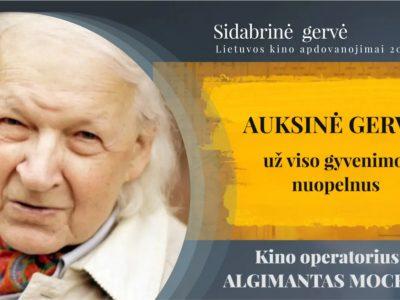 ANTANAS MOCKUS - Auksinė Gervė už viso gyvenimo nuopelnus 2018